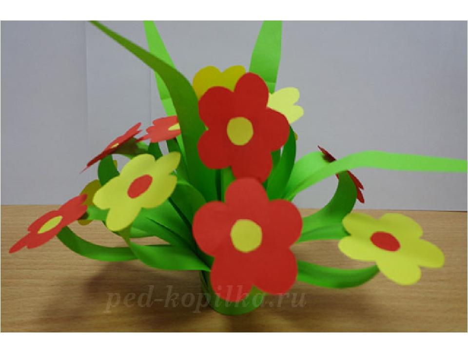 Цветок своими руками для мамы