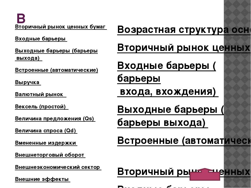 Д Демонополизация экономики Денежная база Денежная массаДенежная система...