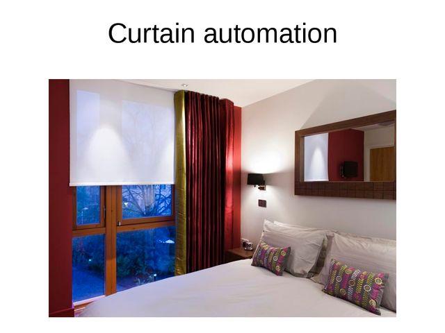 Сurtain automation