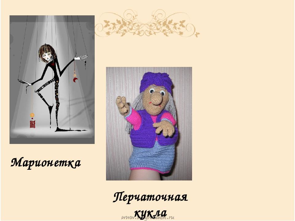 Марионетка Перчаточная кукла