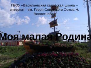 ГБОУ «Васильевская кадетская школа – интернат им. Героя Советского Союза Н. В