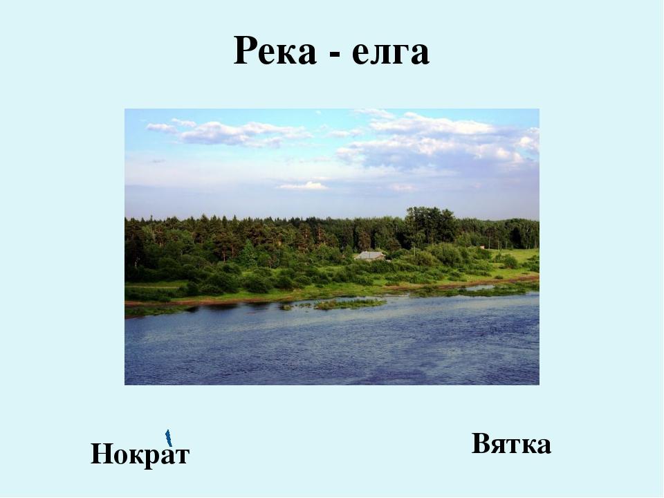Река - елга Нократ Вятка