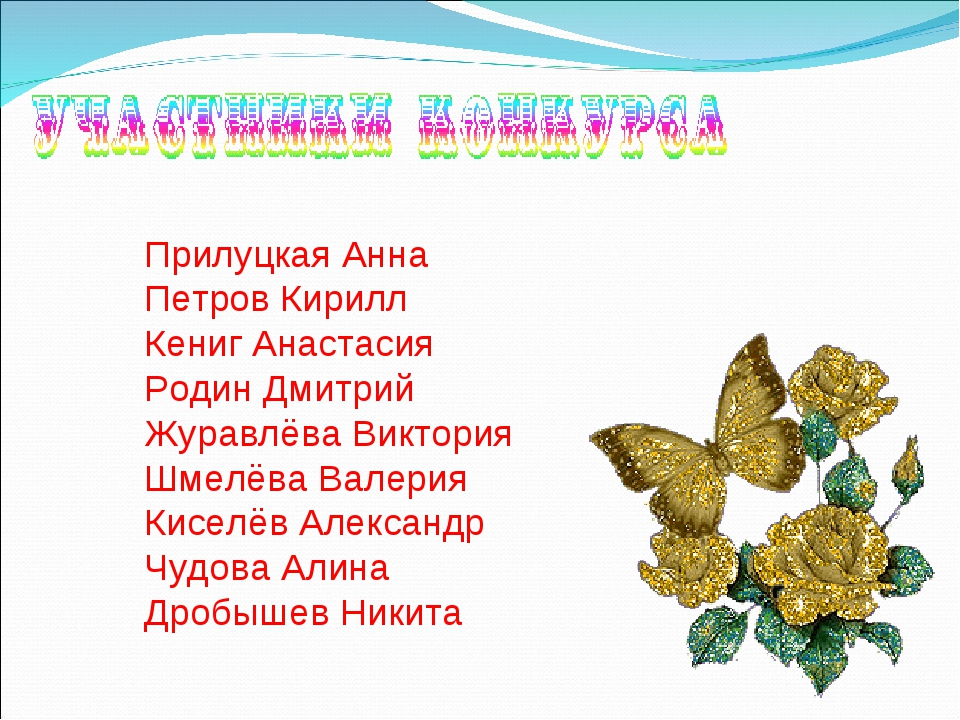 Прилуцкая Анна Петров Кирилл Кениг Анастасия Родин Дмитрий Журавлёва Виктория...