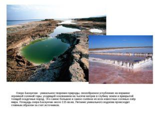 Озеро Баскунчак - уникальное творение природы, своеобразное углубление на ве