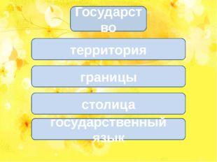 границы столица государственный язык территория Государство