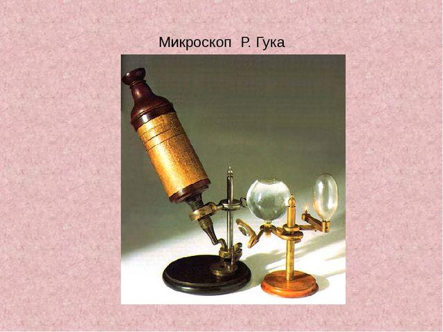 Микроскоп Р. Гука