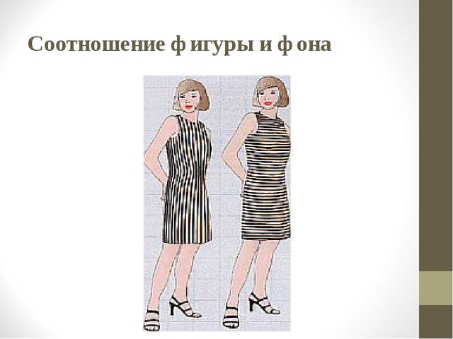 Соотношение фигуры и фона