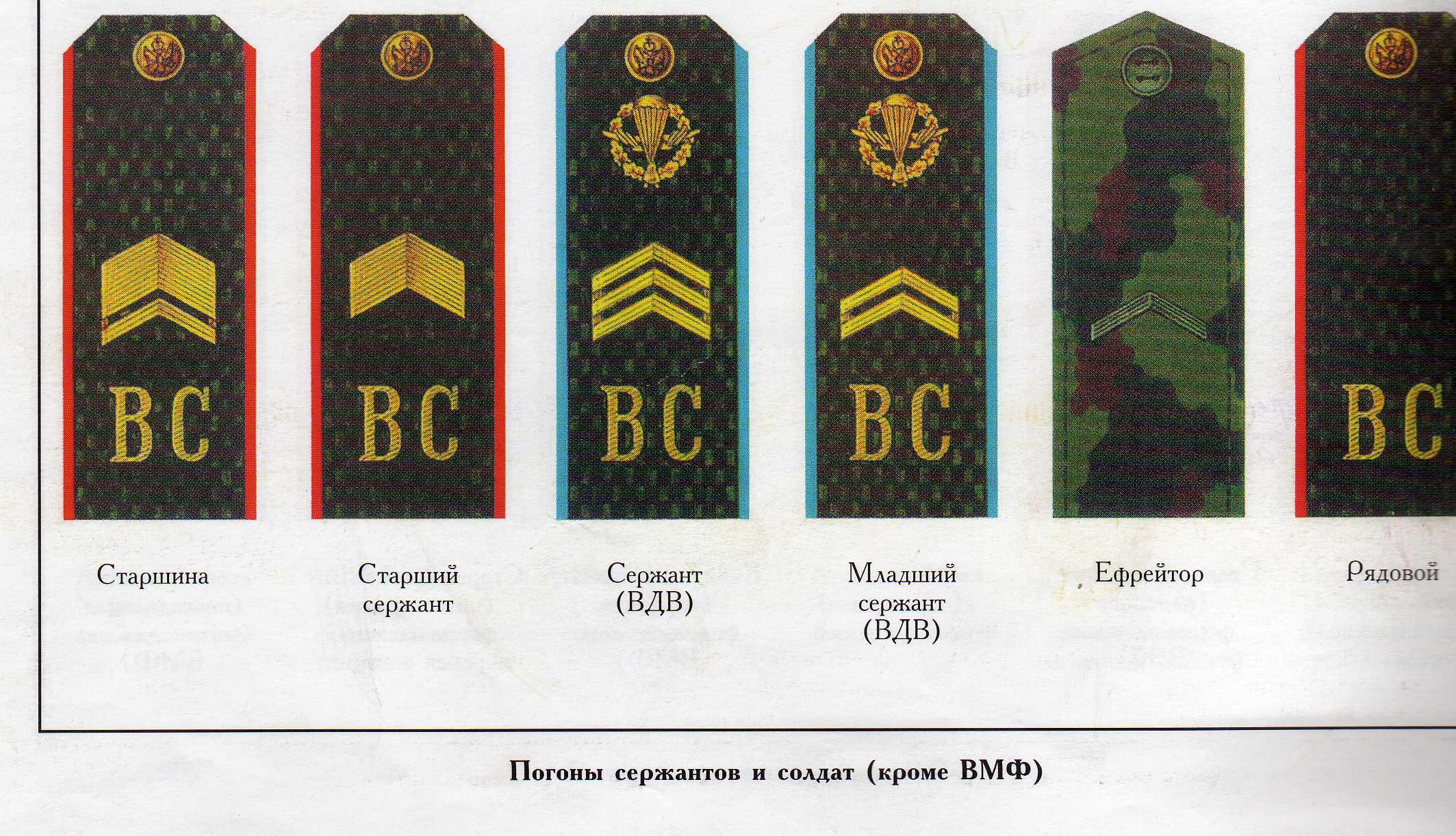 Поздравление младшему сержанту