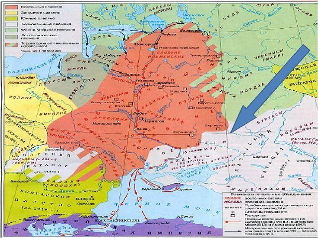 В конце IX в. в степи бассейна Северского Донца ворвалась печенежская орда, п...