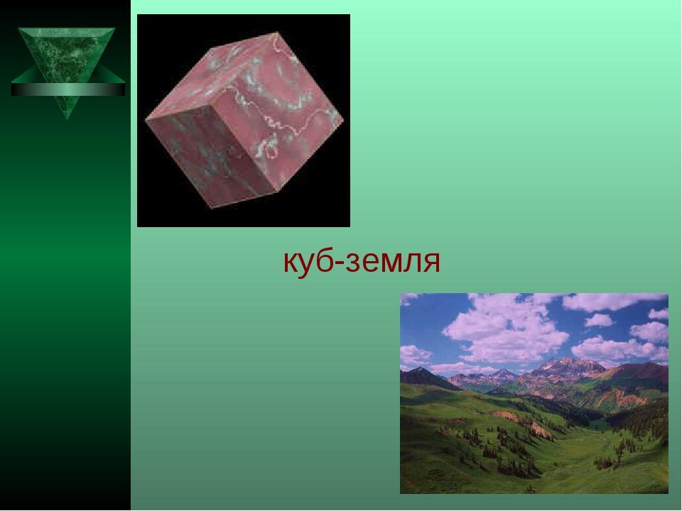 куб-земля