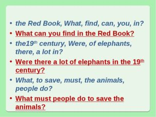 the Red Book, What, find, can, you, in? What can you find in the Red Book? th