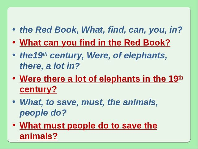 the Red Book, What, find, can, you, in? What can you find in the Red Book? th...