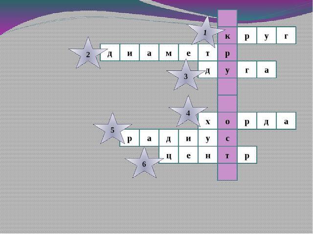 г к р у р м е т у д и а а г д а д р х о т р а д и у с ц е р н 1 2 3 4 5 6