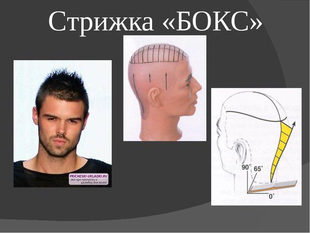Стрижка «БОКС»