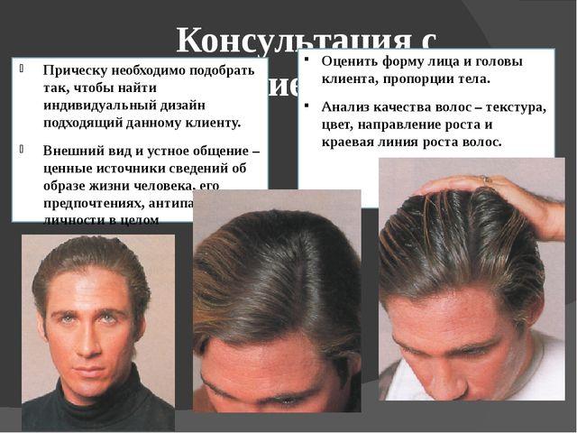Мужские стрижки по форме головы