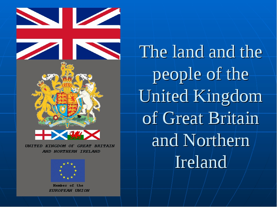 The land and the people of the United Kingdom of Great Britain and Northern I...