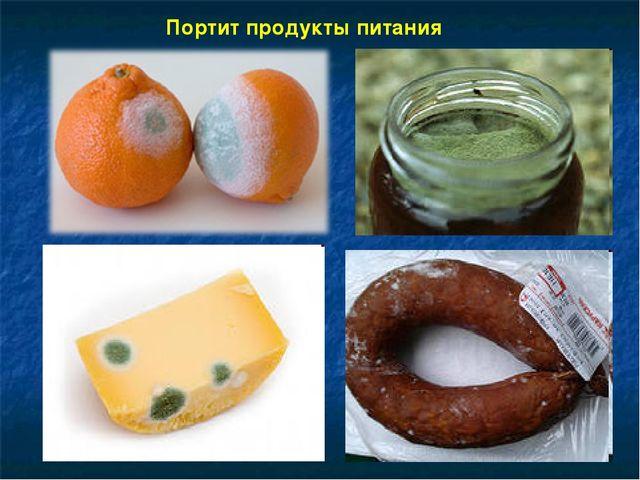 Портит продукты питания