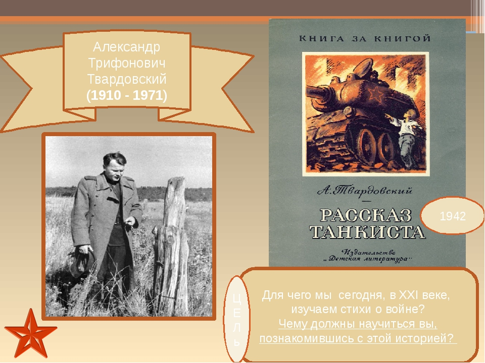 Александр Трифонович Твардовский (1910 - 1971) Для чего мы сегодня, в ХХI век...