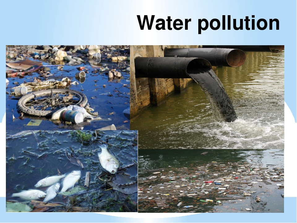 pollution water