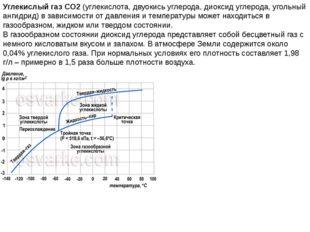 Углекислый газ CO2(углекислота, двуокись углерода, диоксид углерода, угольны