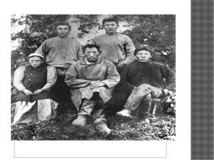 1907 сыл. Азата Иван Корнилович Софронов уола Роман кийиитэ Дария ортолоруга