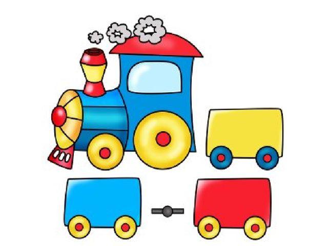Как нарисовать паровозик с