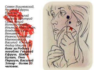 Семен Вишневский, Георгий Ефруш, Василий Рожкин,Миклай Казаков, Дмитрий Орай