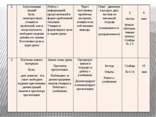 2. Актуализация знаний Цель: - заинтересовать учащихся проблемой, кем и когда