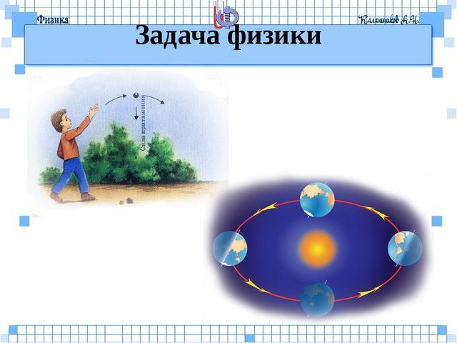 Задача физики