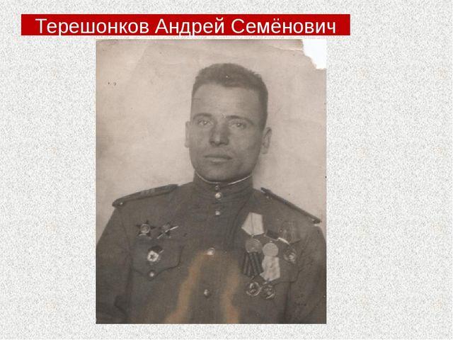 Терешонков Андрей Семёнович