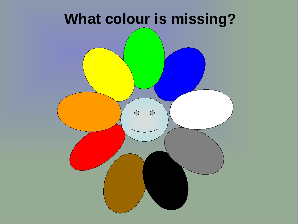 What colour is missing?