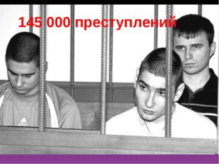 145 000 преступлений