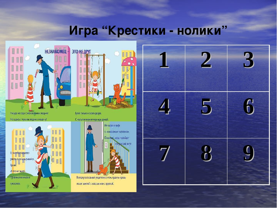 """Игра """"Крестики - нолики"""" 123 456 789"""
