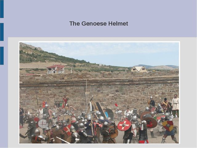The Genoese Helmet