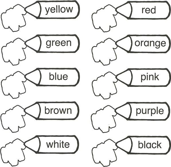 Карточки для изучения английского языка во 2 классе