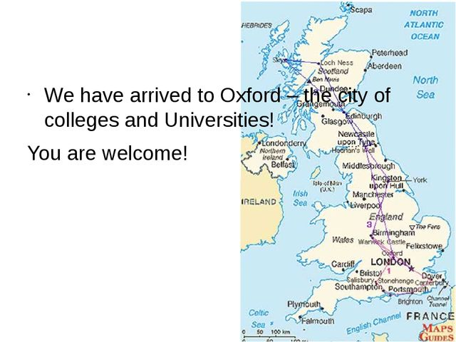 We have arrived to Oxford – the city of colleges and Universities! You are w...
