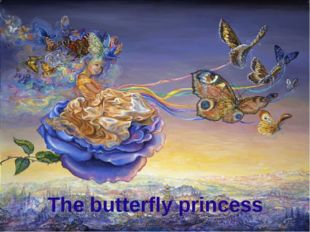 The butterfly princess
