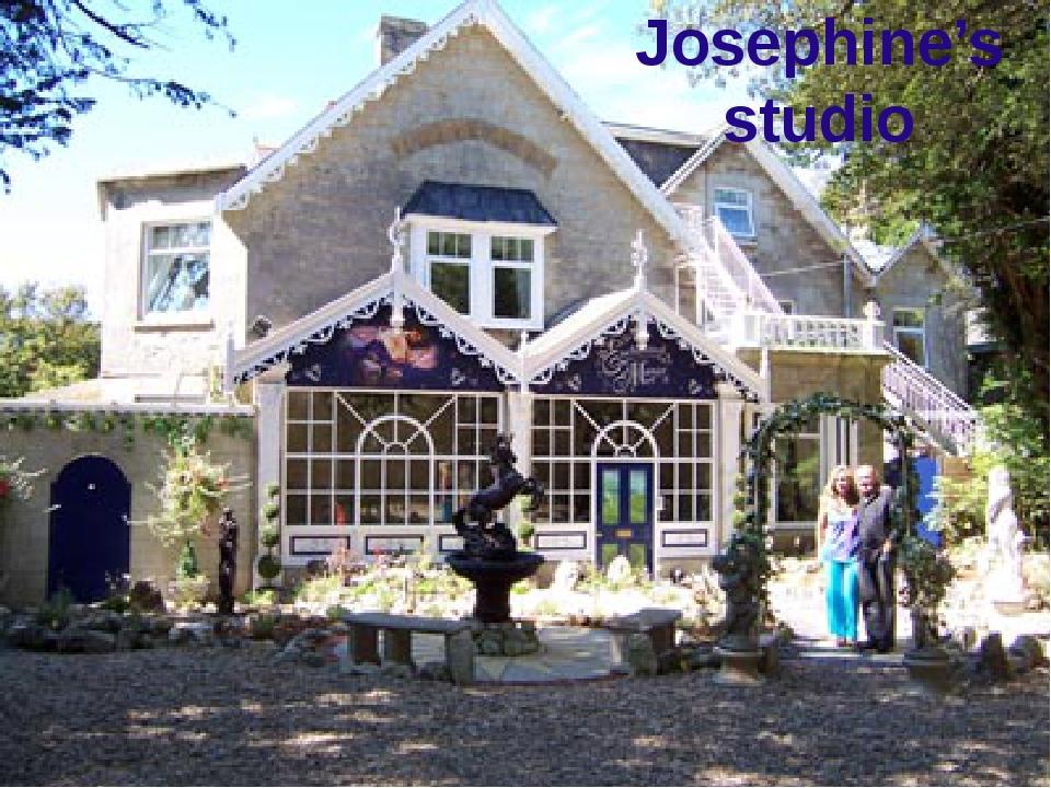 Josephine's studio