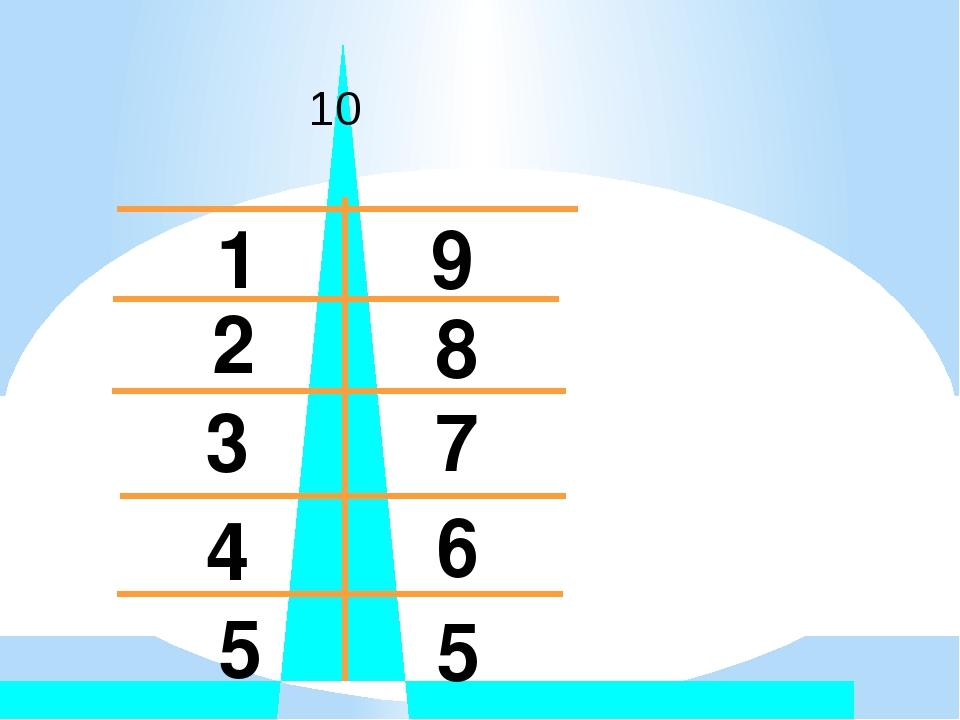 10 1 2 3 4 5 5 6 7 8 9