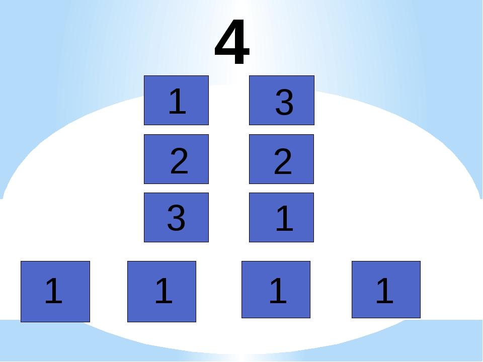 4 1 3 2 2 1 1 1 1 3 1