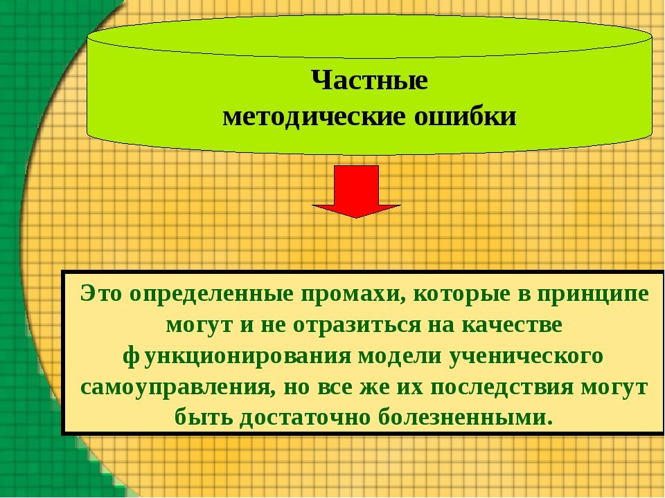 Частные методические ошибки Это определенные промахи, которые в принципе могу...