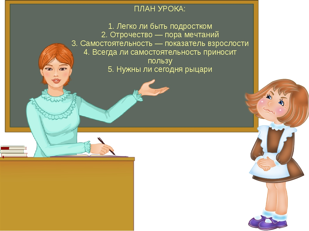 ПЛАН УРОКА: 1. Легко ли быть подростком 2. Отрочество — пора мечтаний 3. Само...