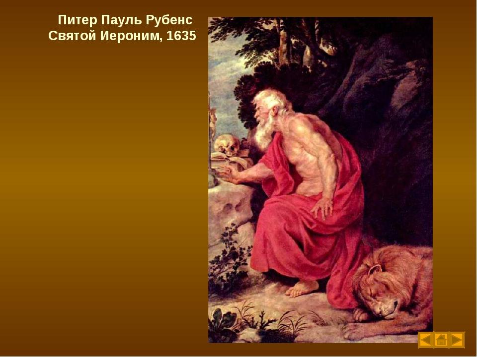 Питер Пауль Рубенс Святой Иероним, 1635