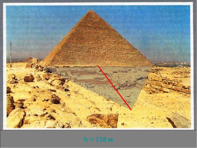 На окраине Каира - столицы современного Египта самая высокая - пирамида Хеопс...