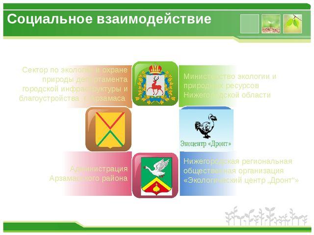 Сектор по экологии и охране природы департамента городской инфраструктуры и...