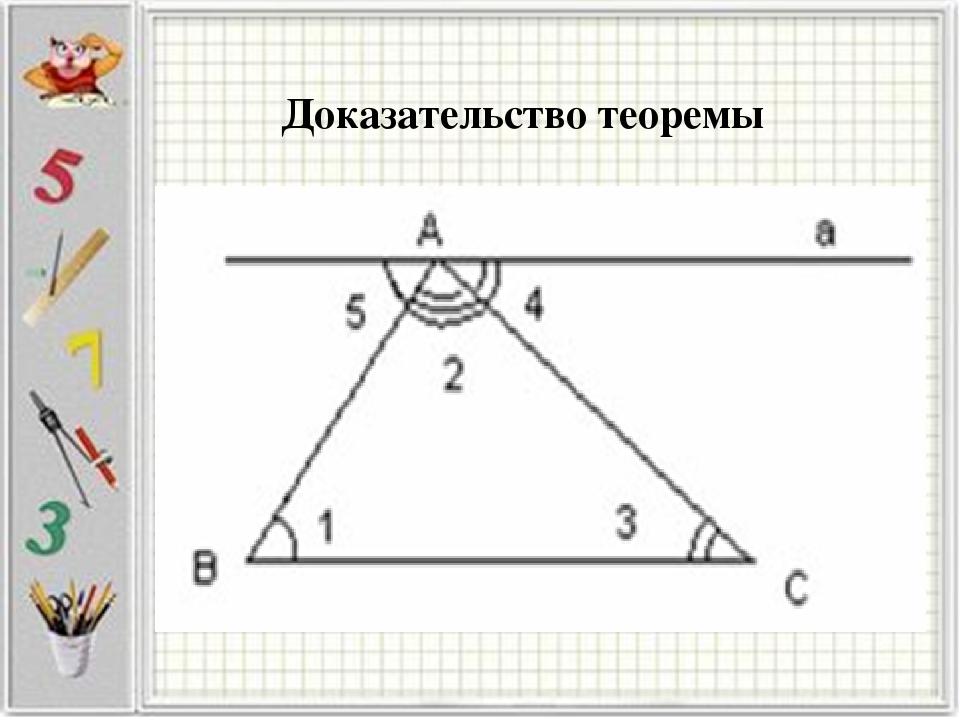 Доказательство теоремы