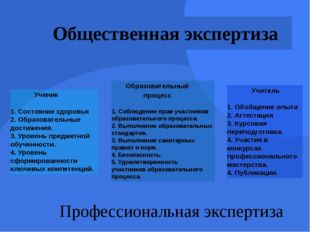 Ученик 1. Состояние здоровья 2. Образовательные достижения. 3. Уровень предм
