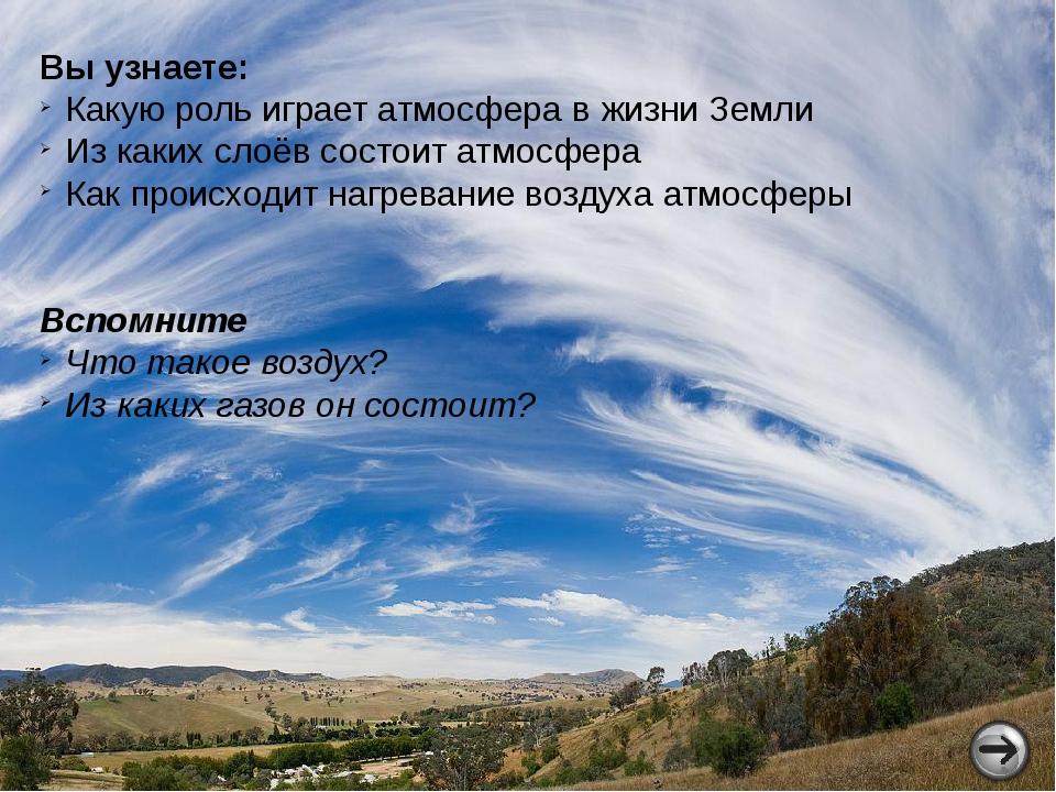 Атмосфера появилась на Земле около 3-4 млрд. лет назад