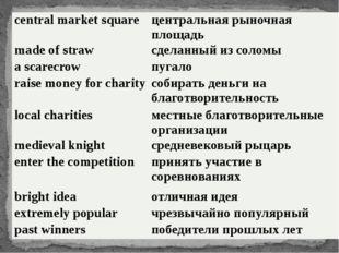 central market square центральная рыночная площадь made of straw сделанный из
