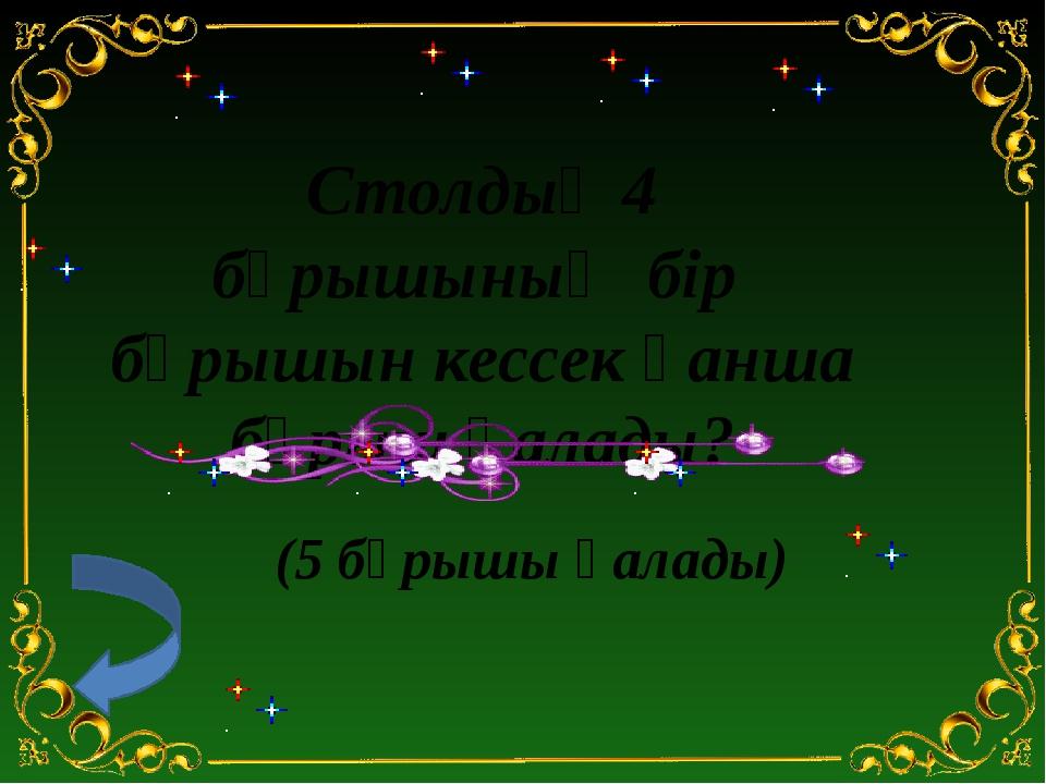 12 20 8 24 40 60 120 : : : : : : 7 – тур. Кім ұшқыр! Қырандар тобы: 120 санын...